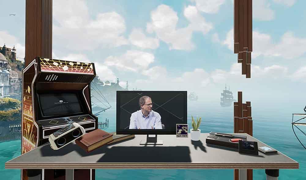 Irgendwann einmal soll Oculus Home der Startpunkt ins Metaverse sein wie bei Ready Player One. Den Weg dahin geht Oculus Schritt für Schritt.