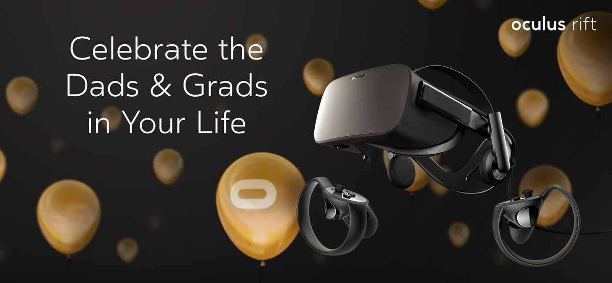 Oculus Rift mit 75 Euro Store-Guthaben jetzt bei Amazon verfügbar