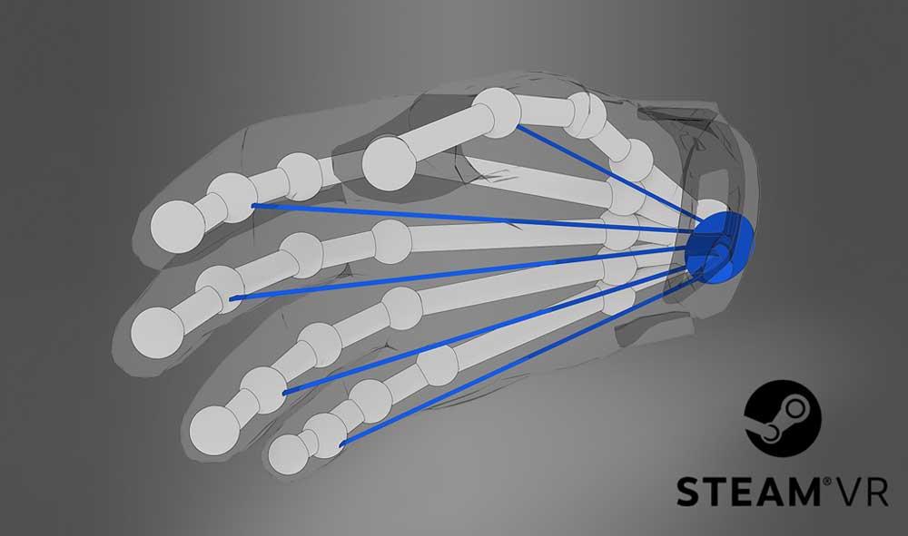 Valve bereitet SteamVR auf die nächste Stufe Virtual-Reality-Eingabe vor. Es geht um Hände und Finger.
