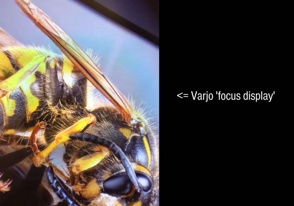 Man erkennt den Übergang zwischen Fokus- und Kontextdisplay an einem leicht abgedunkelten Ring. Bild: Tested (Screenshot)