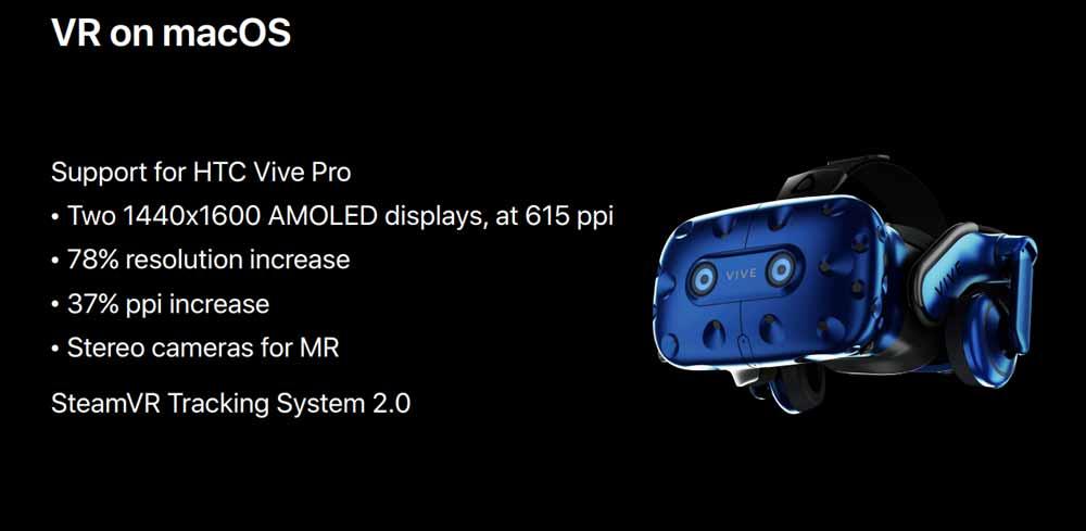 Bei Virtual Reality ist Apple nur Trittbrettfahrer. Immerhin: Durch den Schulterschluss mitValve und HTC haben macOS-Nutzer Zugriff aufaktuelle VR-Technologie.