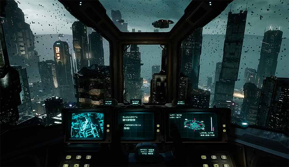 """Oculus Rift, HTC Vive & Valve Index: Fliegen wie der Blade Runner – """"Aircar"""" im Test"""