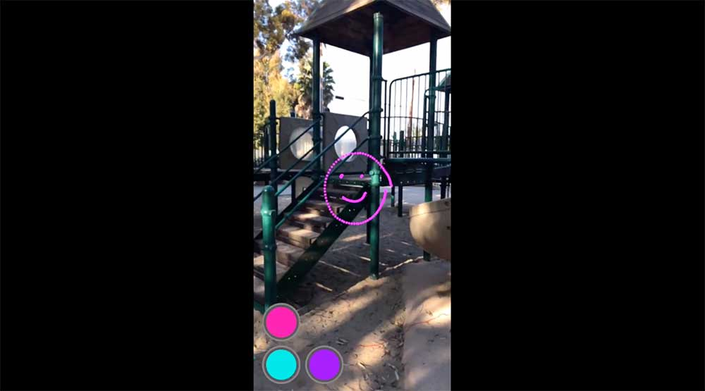 Mit Jido Maps lassen sich AR-Szenen per Knopfdruck an ihrem physischen Aufenthaltsort speichern und zu einem späteren Zeitpunkt erneut in die Welt laden.
