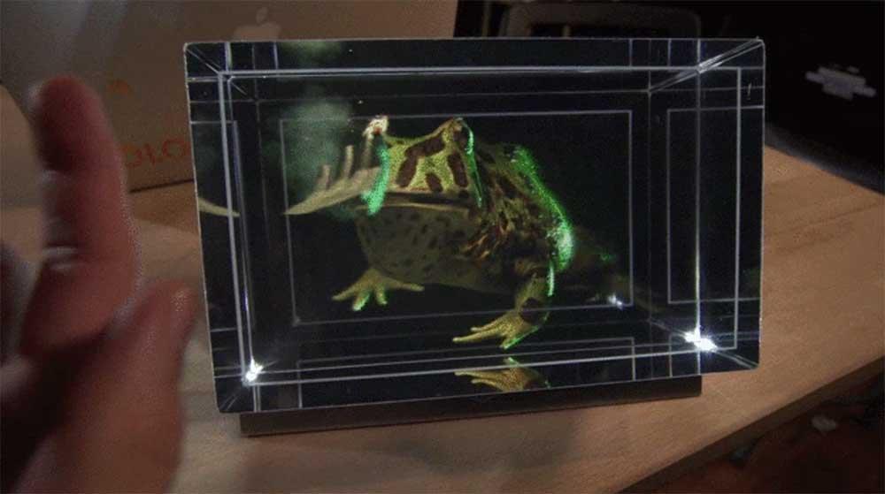 Looking Glass ist ein holografisches Display, dasdigitale Objekte dreidimensional erscheinen lässt, ohne dass sich Nutzer eine VR- oder AR-Brille aufziehen müssten.