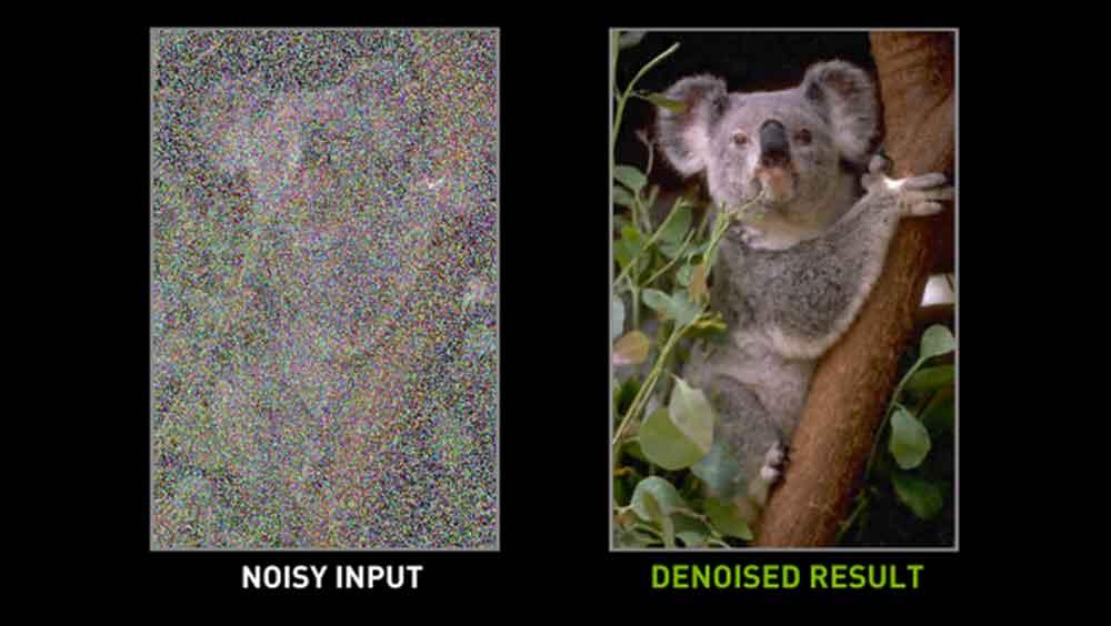 Nvidia-KI entfernt Wassermarken und Bildrauschen aus Bildern