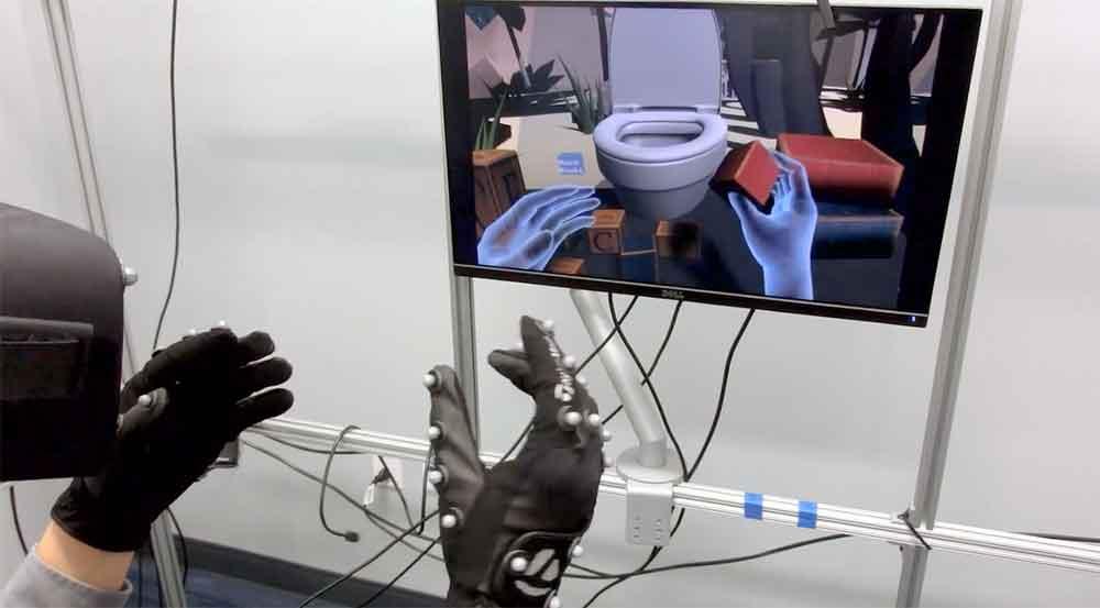 Virtual Reality: Facebook-Forscher zeigen Handtracking der nächsten Generation