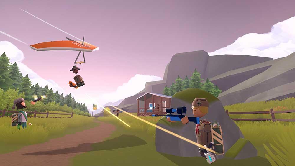 Die Entwickler testen einen Modus, der Menschen ohne VR-Brille am Geschehen teilhaben lässt. Das Konzept hat Zukunft.