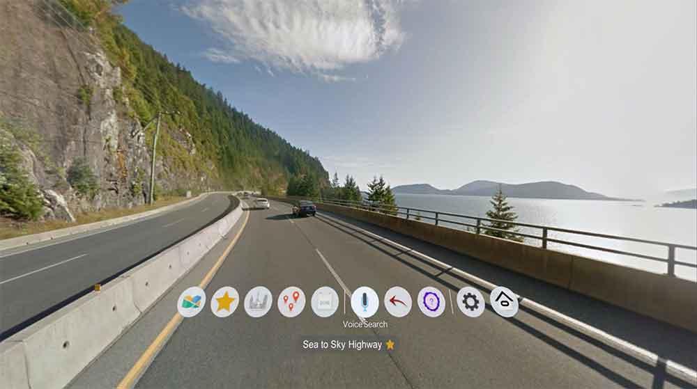 """""""Wander"""" bringt Google Street View in die Oculus Go und macht damit weite Teile Welt mit der VR-Brille erkundbar."""