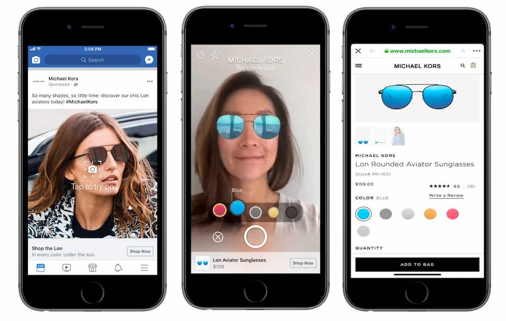 | facebook augmented reality werbung