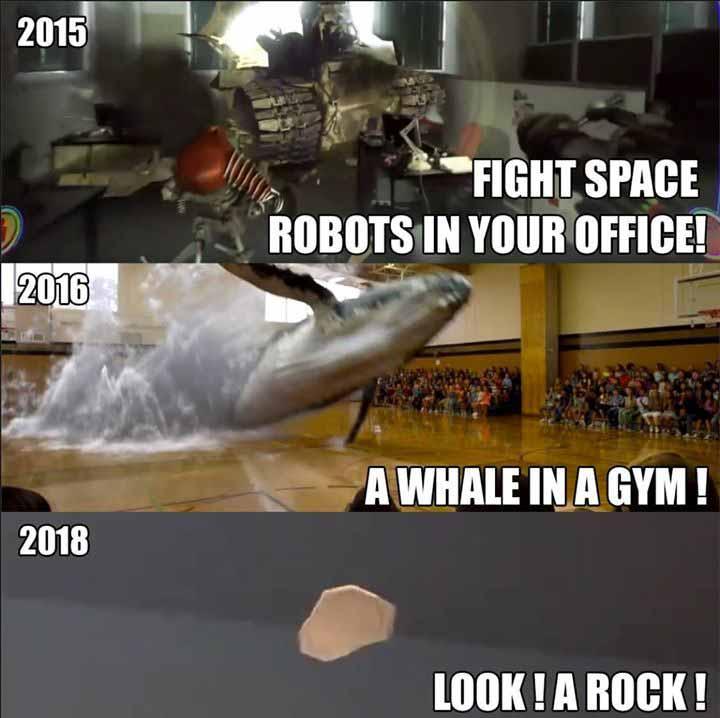 Das Internet generiert fleißig Magic-Leap-Memes, die das Unternehmen verspotten. Bild: Reddit