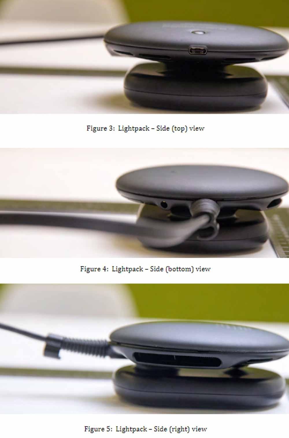 Magic Leaps Lightpack ganz nah dran. Bilder: FCC