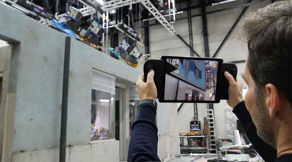 Augmented Reality macht Filmsets beliebig modifizierbar