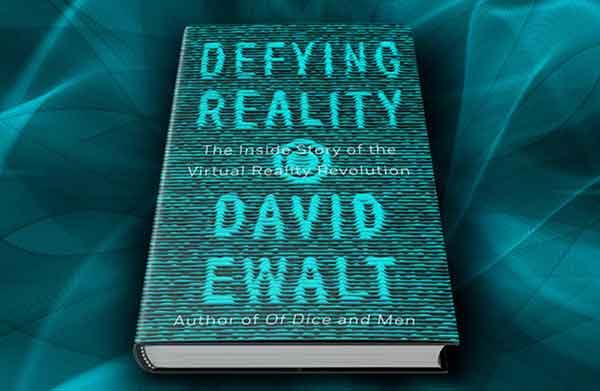 Der Journalist David Ewalt schrieb ein Buch über Virtual Reality. Er glaubt, dass das Medium nicht mehr von der Bildfläche verschwinden wird.