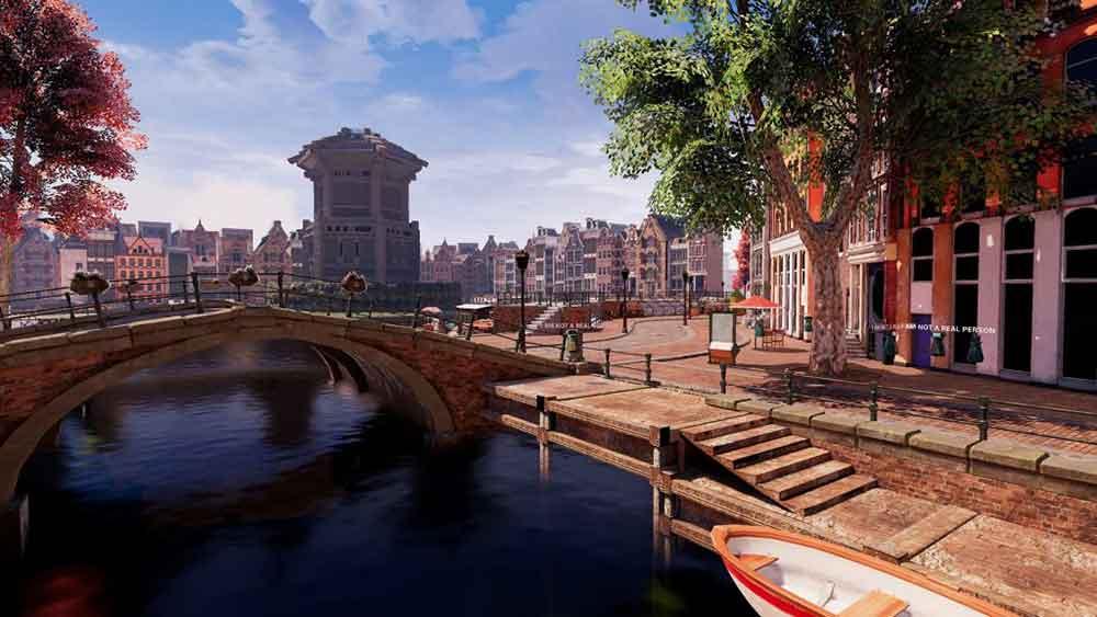 Ein Entwicklerteam aus Arizona hat drei Jahre an einer virtuellen Stadt gearbeitet. Nun geht die Social-VR-App offiziell an den Start.