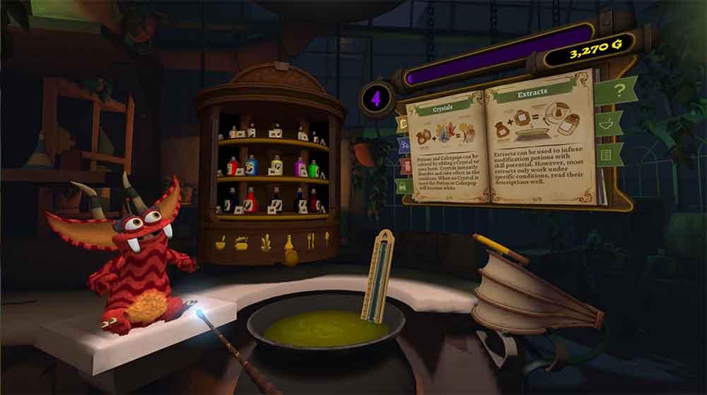 Pet Lab ist ein Juwel im Spielkatalog der Oculus Go. Ich habe mir das Spiel mit dem Harry-Potter-Charme und Monsterknuddelfaktor angesehen.