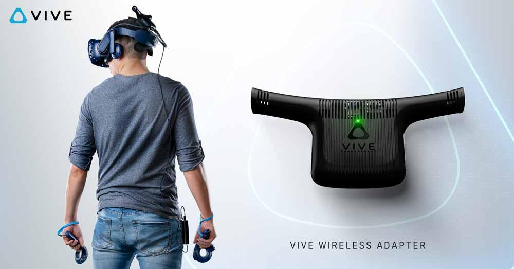 Am 24. September bringt HTC den gemeinsam mit Intel und Displaylink entwickelten offiziellen Drahtlosadapter für Vive und Vive Pro auf den Markt.