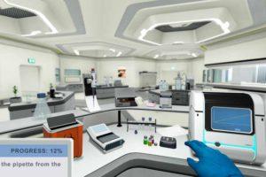Biologie Studierende in einem Online-Programm der Universität Arizona sollen sich Wissen in VR-Laboren aneignen. Für die Kurse gibt es Credit Points.