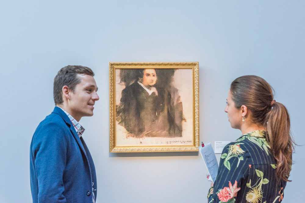 Das Auktionshaus Christie's versteigerte erstmals KI-Kunst.