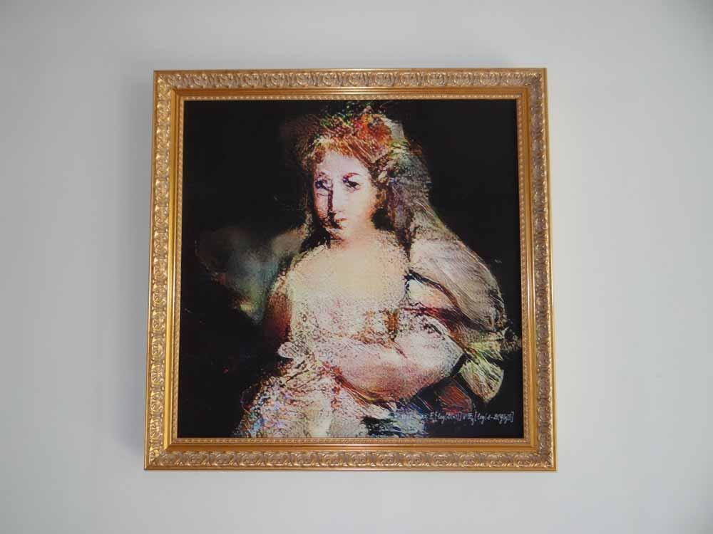 Die Comtesse de Belamy existiert nur in der KI-Fantasie. Bild: Obvious