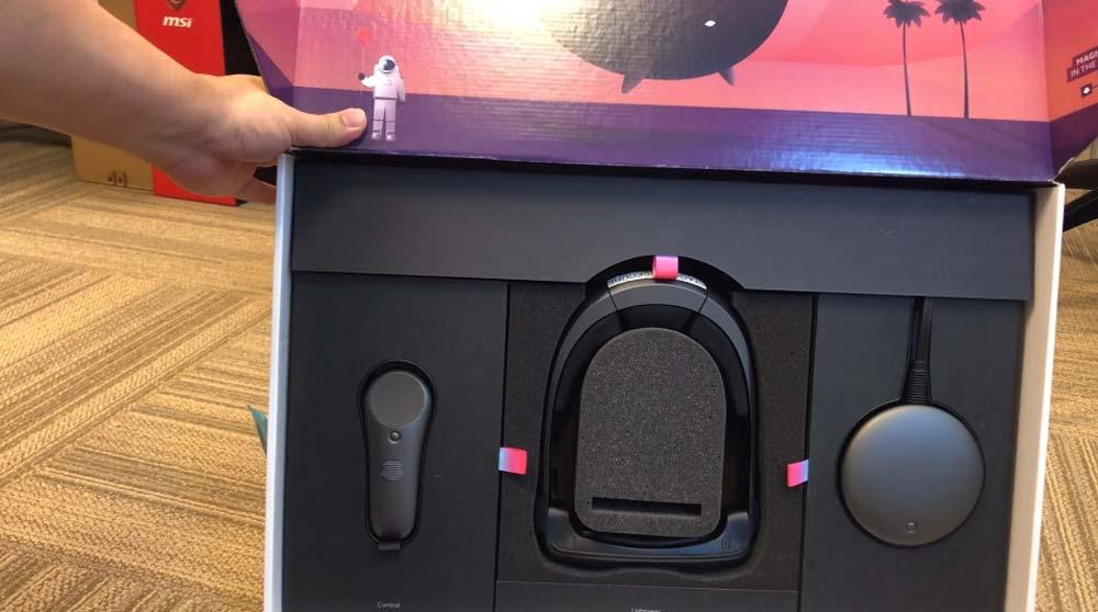 Magic Leap One Unboxing: Weiterer Käufer packt die AR-Brille aus