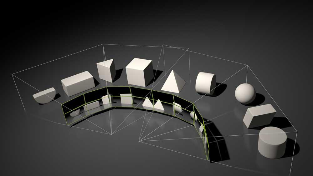 Nvidias Multi-View-Rendering soll die Darstellung für VR-Brillen mit weitem Sichtfeld optimieren.