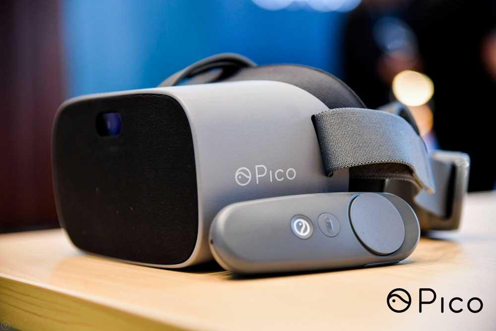 Picos neueste VR-Brille G2 bietet auf dem Papier deutlich mehr Leistung fürs Geld als Oculus Go. Bild: Pico