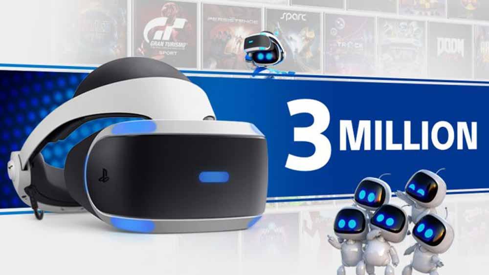 Playstation VR: Sony hat drei Millionen VR-Brillen verkauft
