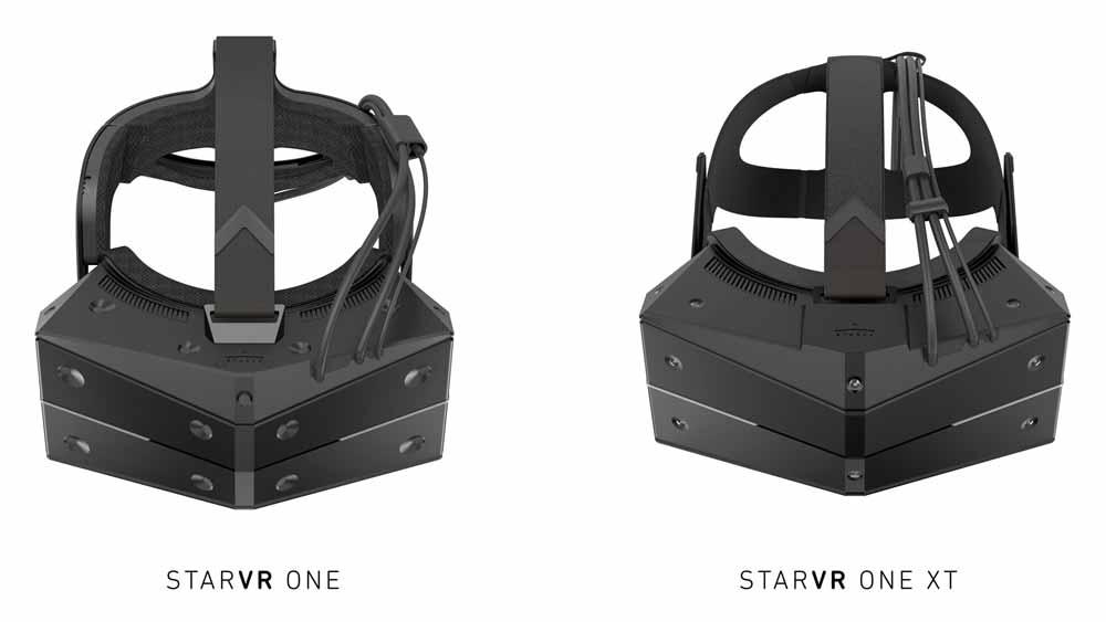StarVR One gibt es wahlweise mit Steam-Tracking oder optischen Markern. Bild: StarVR