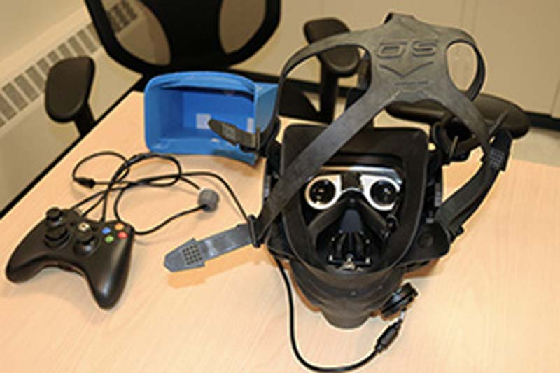 | virtual reality vr unter wasser tauchen taucherbrille equipment