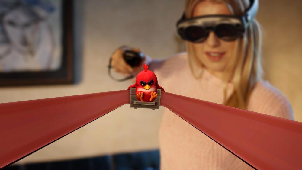 """Für das Smartphone war """"Angry Birds"""" die Gaming-Killer-App und wurde zur Milliardenmarke. Jetzt startet das Entwicklerstudio auf Magic Leap One."""