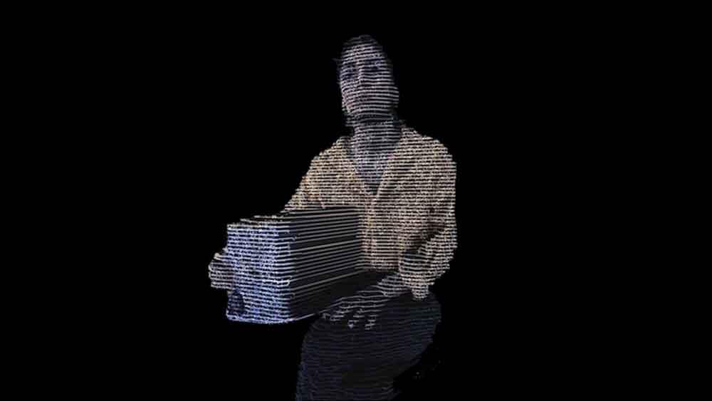 In einer AR-Erfahrung thematisiert der muslimische Künstler Asad Malik die Machtdynamiken diskriminierender Grenzverhöre.
