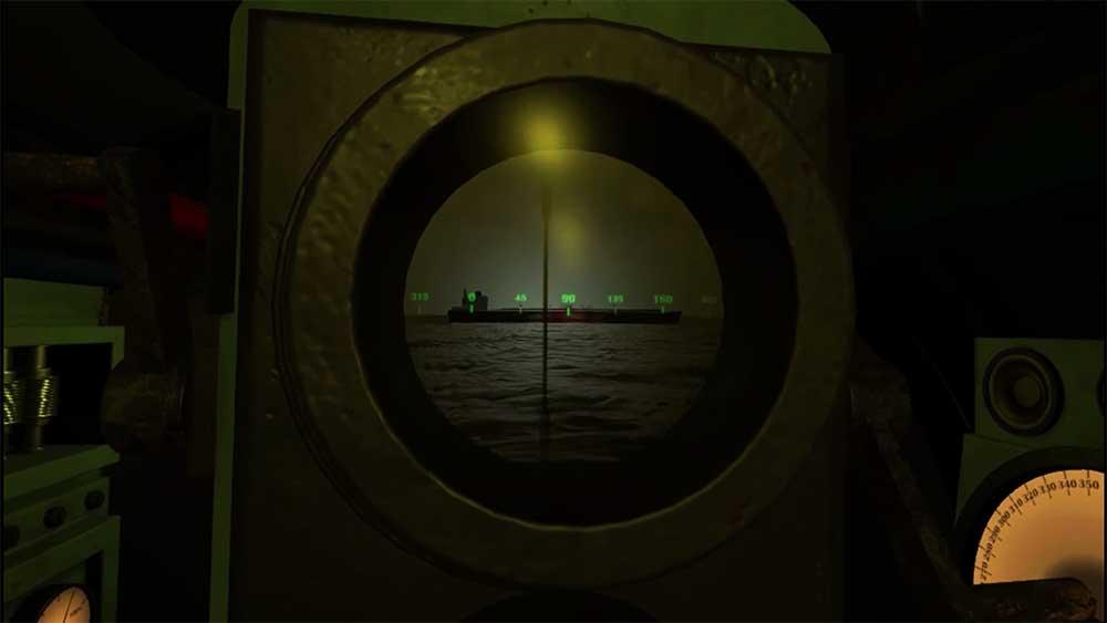 Mit Ironwolf können bis zu vier VR-Nutzer in ein virtuelles U-Boot steigen und feindliche Schiffe versenken.