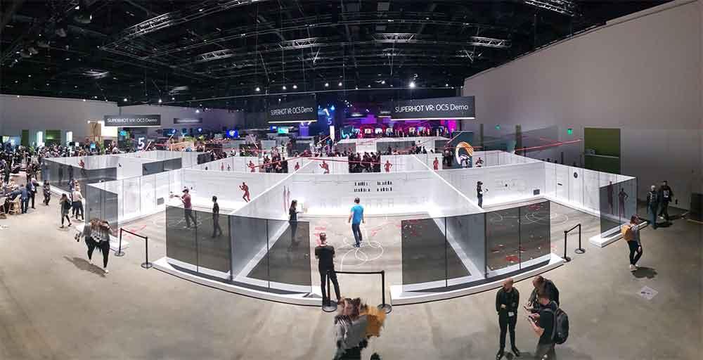 Auf der Oculus Connect zeigt Oculus wie Arena-Scale-Tracking, Mixed Reality und Mehrspieler-Standortsynchronisierung VR-Arcades revolutionieren könnte.