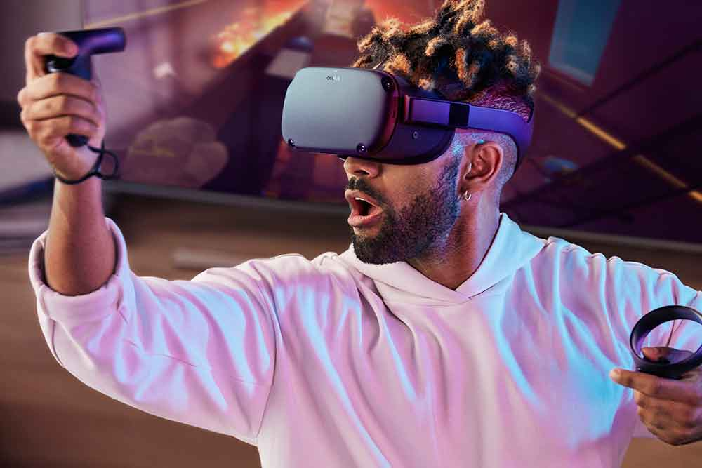 """Laut Oculus-Technikchef John Carmack kann Oculus Quest trotz mobiler Hardware mit ordentlicher Grafik aufwarten. Die VR-Leistung sei """"in der Nachbarschaft"""" einer Playstation 3 oder Xbox 360."""