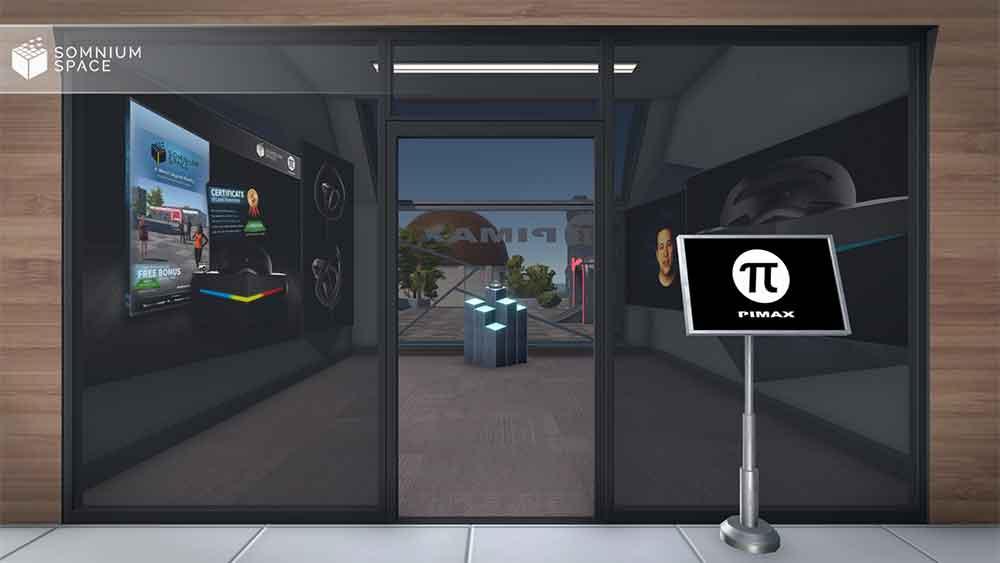 Der freie Abverkauf der Pimax-Brillen soll Anfang 2019 starten. VR-Nutzer sollen die VR-Brillen in einem virtuellen Showroom begutachten können.