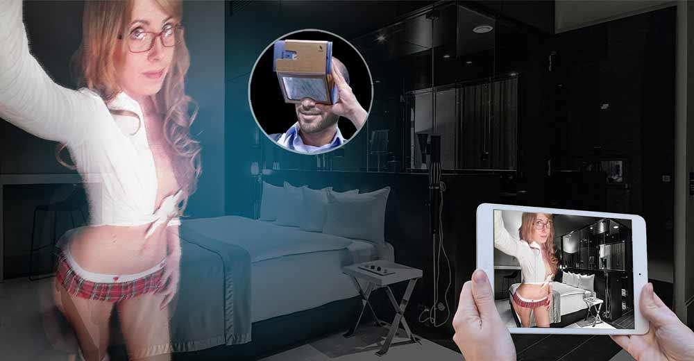 Das Augmented-Reality-Startup ARConk will Pornostars ins Wohnzimmer projizieren. Oder in das Arbeitszimmer. Oder den Kellerraum. Ihr wisst schon.