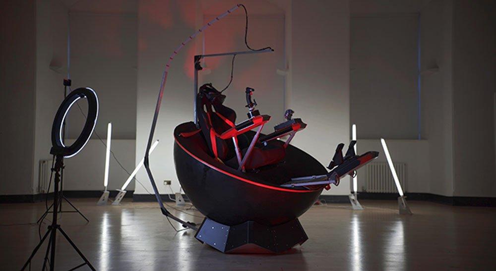 Feel Three: Kurioses Virtual-Reality-Cockpit bei Kickstarter finanziert
