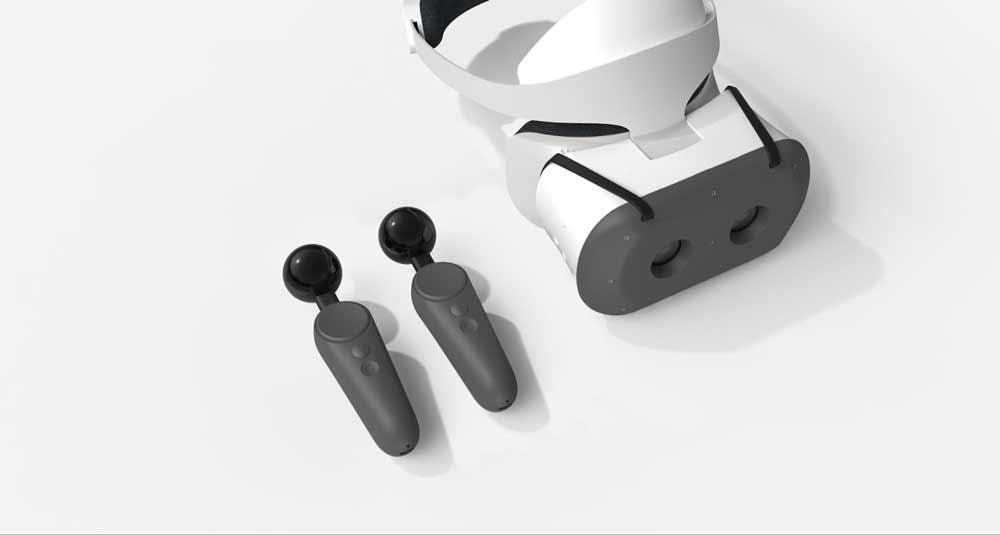 Endlich ein Lebenszeichen aus Googles VR-Abteilung: Lenovos autarke VR-Brille Mirage Solo wird mit Bewegungscontrollern und Mixed-Reality-Funktionen aufgewertet.