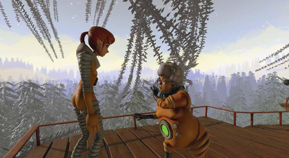 Lucid vereint die Qualitäten des klassischen Geschichtenerzählens mit VR. Bild: Breaking Fourth
