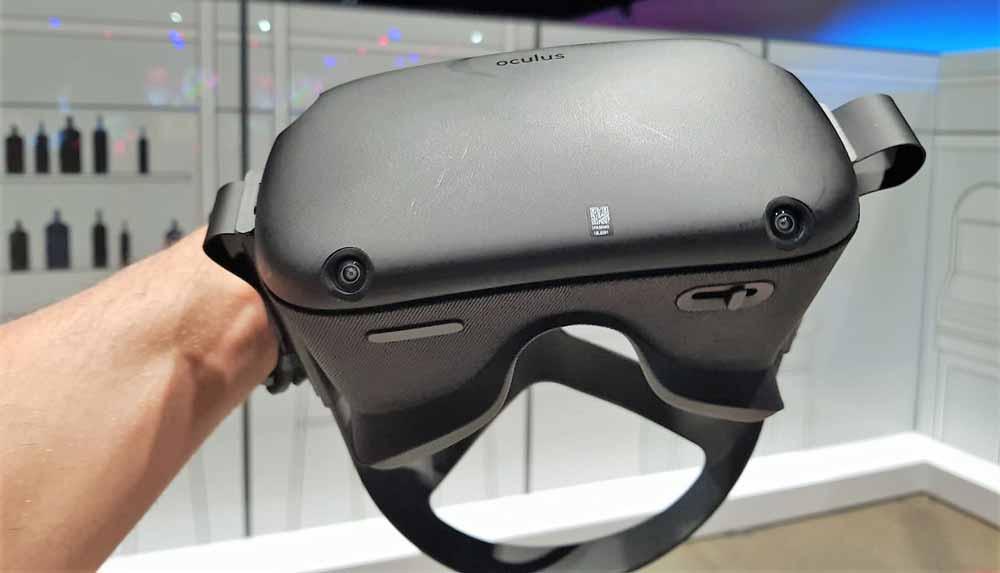 Im Frühjahr 2019 erscheint Facebooks vierte VR-Brille. Oculus Quest heißt sie und wird gerade auf der Connect 5 vorgestellt.