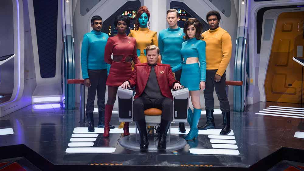 """In der Episode """"USS Callister"""" der aktuellen Staffel der dystopischen Sci-Fi-Serie """"Black Mirror"""" sperrt ein Programmierer Menschen in der Virtual Reality ein. Jetzt droht eine ganze Serie zum Thema."""