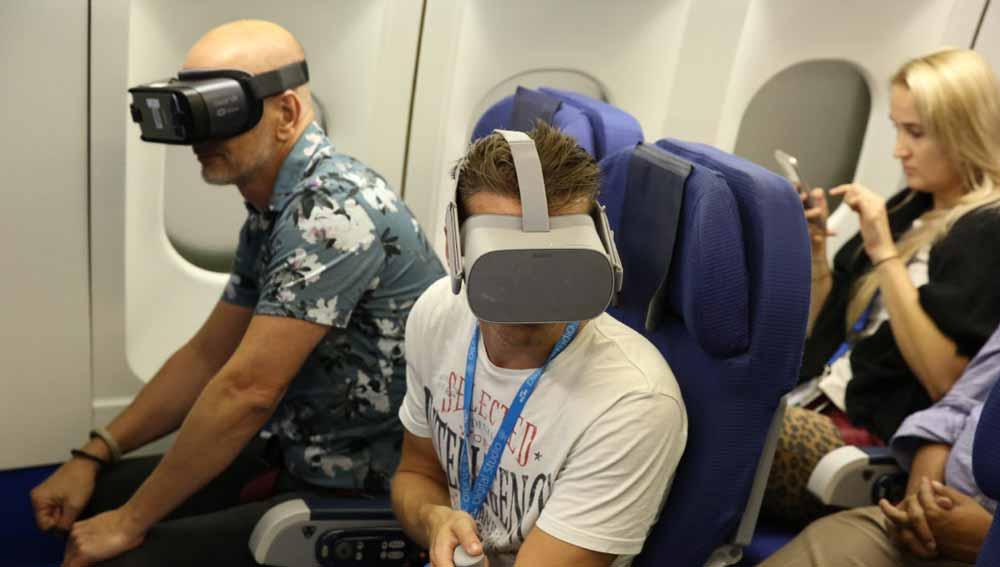 Studie: VR-Brillenträger im Flugzeug könnten Absturz verdaddeln
