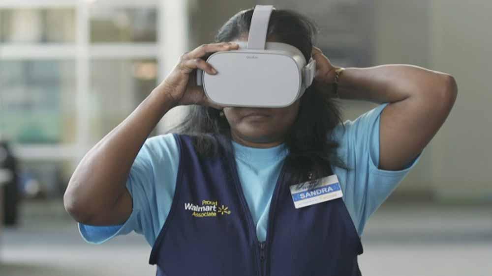 Der weltweit größte Arbeitgeber Walmart setzt Virtual Reality im großen Stil für die Mitarbeiterschulung ein. Jetzt auch mit Oculus Go.