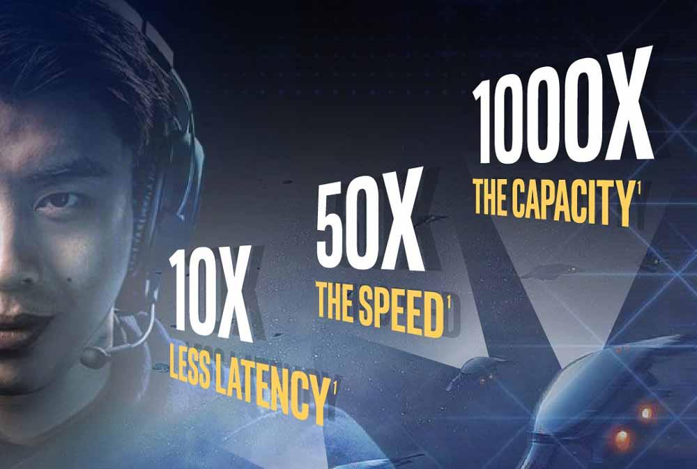 Intel wirft einen Blick in die 5G-Zukunft: Die schnelle Drahtlosverbindung soll VR und AR nach vorne peitschen.