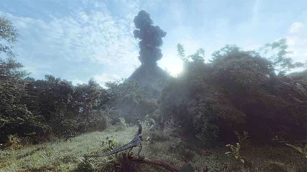 Das 5K-Remaster kommt gleich mit zwei technischen Innovationen, die die Dinos noch lebensechter erscheinen lassen.