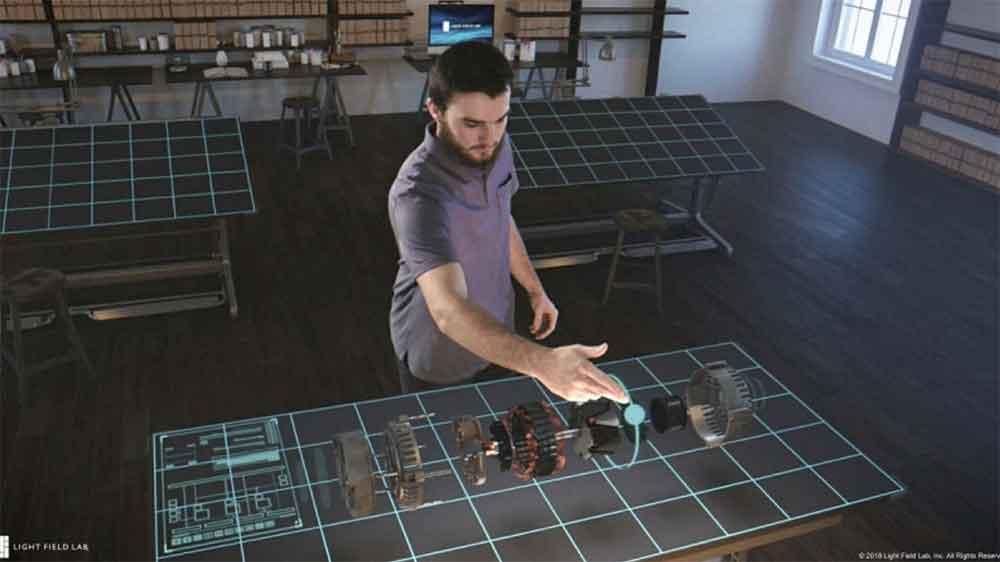 Die Lichtfeldspezialisten von OTOY und Light Field Lab bündeln ihre Kräfte, um eine Holodeck-ähnliche Erfahrung erschaffen.
