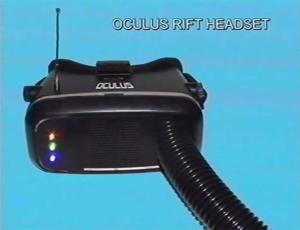 Der Youtube-Kanal Squirrel Monkey hat ein Video erstellt, das Oculus Rift in die 80er Jahre zurückversetzt.