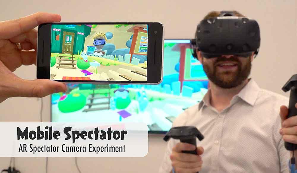 Experiment: Smartphone wird zum Fenster in die Virtual Reality