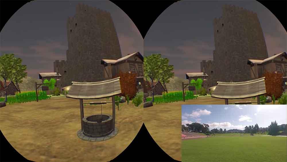 Zwei VR-Tüftler haben eine großflächige World-Scale-VR-Demo programmiert. Sie wollen zu einer Sicherheitsdebatte anregen.