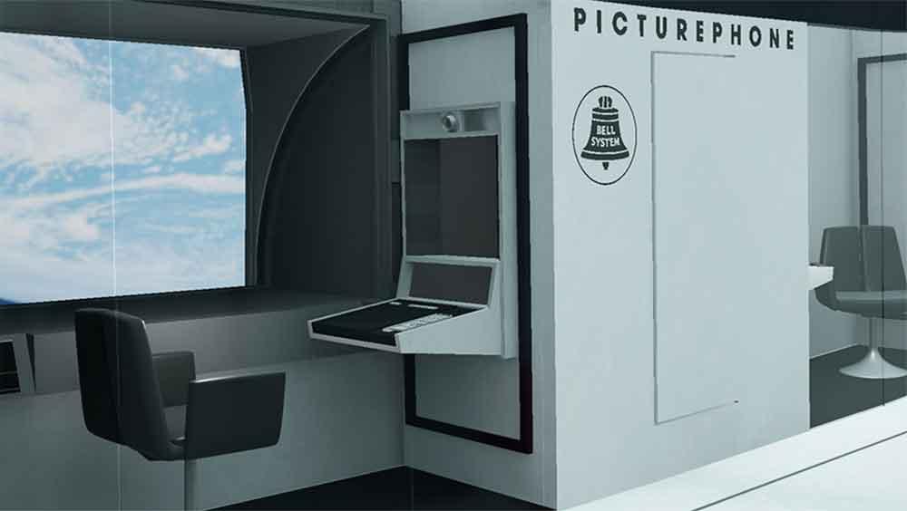 Eine italienische Architekturstudentin hat drei Räume aus Stanley Kubricks Weltraumepos originalgetreu für Virtual Reality nachgebaut.